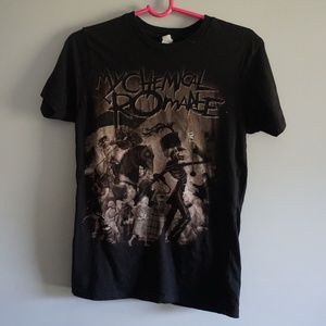 My Chemical Romance Band Tshirt Size Small
